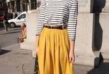 Retro skirts