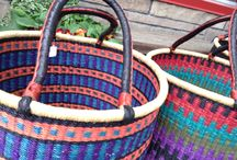 Wicker Wonders / Some of our baskets are weaved by creative cookies from Baba Tree Basket Company and some of our newer baskets are from a great Fair Trade organization from Ghana!