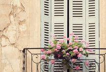 Fenster und Fensterladen