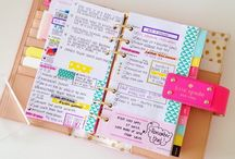 Stionery planner etc