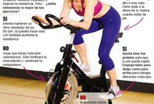 ejercicio con bici y caminadora eliptica