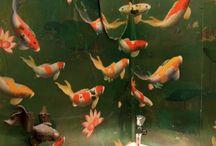 Tapet fiskar