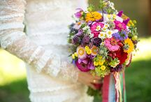 Hochzeit bunt