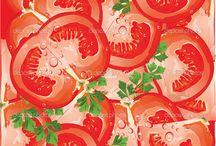 Una entrada con mucho tomate