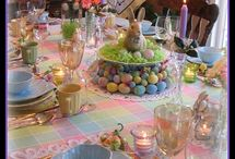 Easter Quilts, Table Decor & Food / Easter Quilts, Table Decor & Food