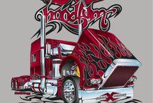 Trucker USA Potisky