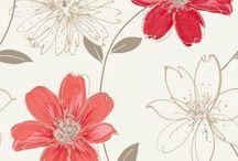 wzory kwiatowe