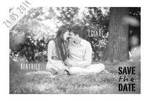 SaveTheDate / La data del matrimonio si annuncia qualche tempo prima con un SaveTheDate! Seguirà invito e partecipazione