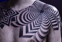 graphic tattoos