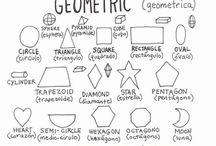 Element of Art: Shape / Shapes, organic, geometric