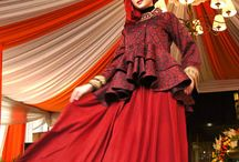 Hijab fashion / Red