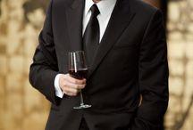 ワイングラス 男