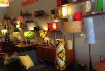 Mid century furnishings