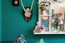 Bohemian / Bohemian chic interiors and clothing
