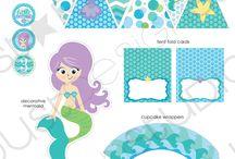 Party mermaid