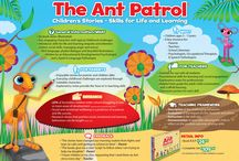 Ant Patrol Information Posters / A collection of Ant Patrol images and posters that carry the message of what we are all about - Skills for Life and Learning!!