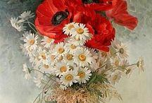 gelincik / çiçekli