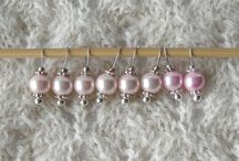 Stitch markers / Luxury handmade stitch markers for knitters