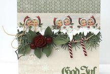 Julkort Pion