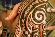 Henna-tattoo's