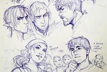 Human drawings