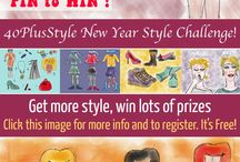 40PlusStyle New Year Style Challenge 2014 / For participation in 40 Plus Style New Year Style Challenge and contest.