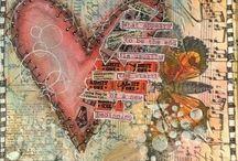 Heart Art Ideas!