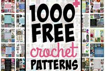 Crochet and knit patterns