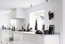 køkken / Opbevaring af spækbræt