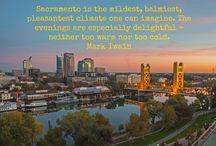 What People are Saying / What people are saying, or have said about the Sacramento region.
