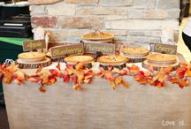 Fall Wedding / Inspiration for a fall wedding