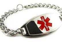Compazine Allergy Bracelet / For More on Compazine Allergy Bracelet Visit Below Pins or https://www.myidentitydoctor.com/Compazine-Allergy-Bracelet.html