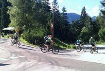 Bikers in Trentino