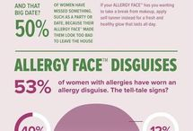 Zyrtec Allergy Face / How do you cover up your #AllergyFace? Check out these #beauty tips brought to you by #Zyrtec.
