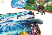 Holiday Playmat Promotion / Have you started your holiday shopping yet? Shop now and save the holidays for more time with your friends and family.  Get a FREE Playmat with your $100 Safari Ltd. figure purchase. Rooted in the same principle as our fun and educational figurines, our Wild and Ocean Playmats provide safe and beneficial play with an adventurous twist!