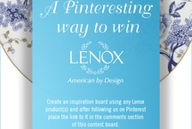 A Pinteresting Way to Win / by Lenox