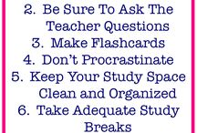 Surviving Finals Week / Tips, tricks and motivation for students to survive the hardest week of school...FINALS!