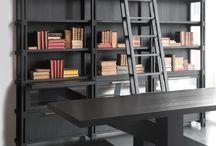 Knihovny a pracovny