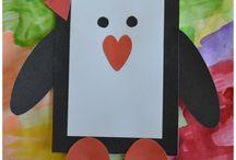 Valentine's Crafts and Snacks