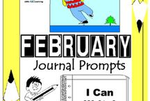 February Writing Prompts Quick Writes / February Writing Prompts Quick Writes. Creative writing prompts for everyday in the month of February. ************************************************************************ Though your students may not have highly developed writing skills to express their thoughts, they do have bright imaginations filled with all sorts of creative ideas. ************************************************************************