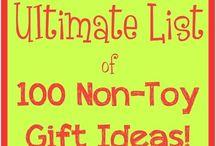 Non-toy Geschenke