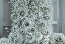 paper flowers diy backdrop photo booths