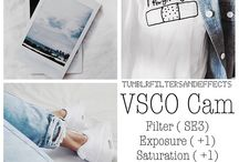 VSCO / filters & photos ideas