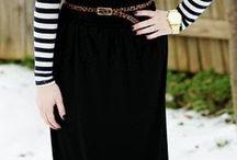 Easy skirts