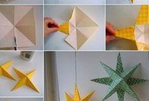 origami y cesteria en papel / origami y papel