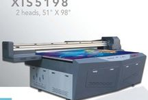 XIS 5198 UV Flatbed Printer