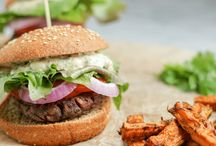 Burgers (Meat and Veggie!)