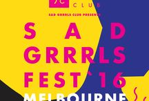 Sad Grrrls Fest Melbourne 2016 / Sad Grrrls Fest Melbourne 2016 - Saturday October 1st at The Reverence Hotel, Footscray