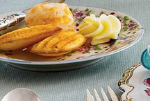 A Little Cheese on the Side / Side dishes that feature cheese: often Cheddar or Colby cheeses.