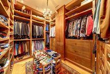 Closet Ideas | Dream Closets / Closet ideas - Photos of closets in luxury homes in Marin County, California